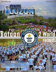 One Luzon e-news magazine 29 July 2016 vol.6 no. 145