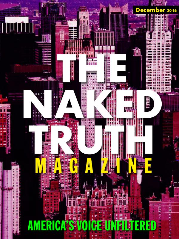 The Naked Truth Magazine - America's Voice Unfiltered December 2016