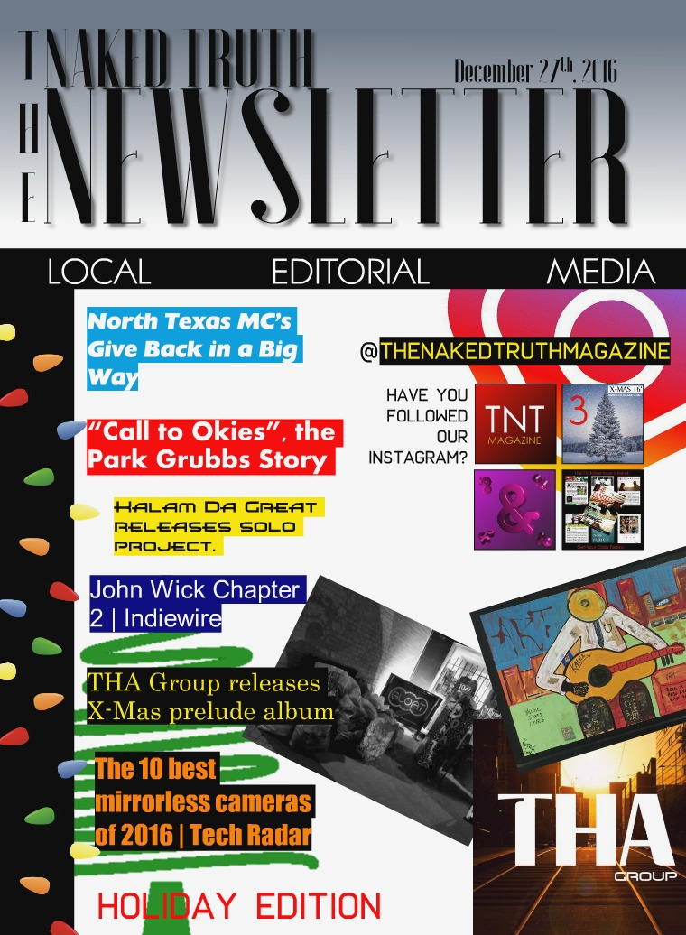 The Naked Truth Newsletter Holiday Edition