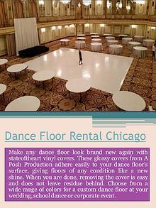 Portable Dance Floor Rental