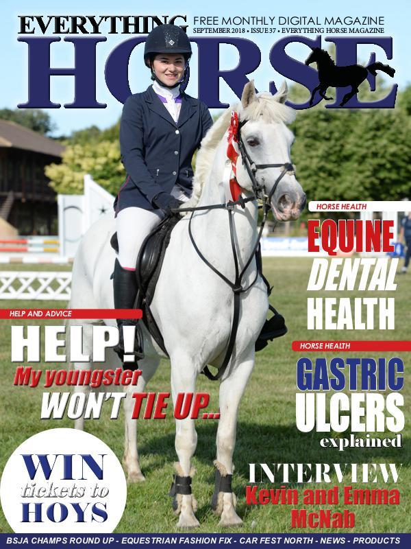EVERYTHING HORSE MAGAZINE SEPTEMBER 2018 ISSUE 37