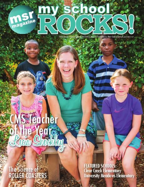 My School Rocks! 2014-09 Teacher of the Year Lecia Shockley