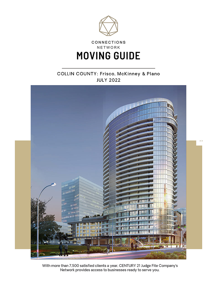 Collin County:  Frisco, McKinney & Plano Connections Network Moving Guides 2020