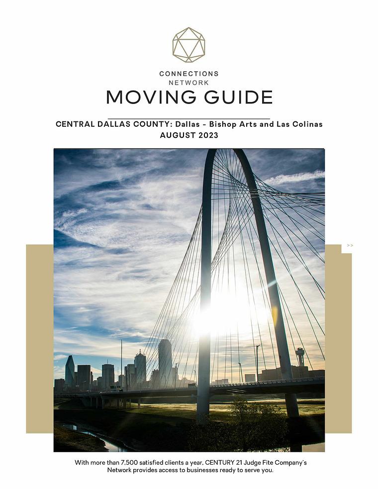 Central Dallas County: Dallas Urban & Las Colinas Connections Network Moving Guides 2020