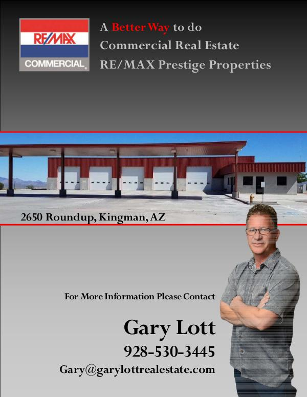 Commercial Property 2650 Roundup Kingman AZ