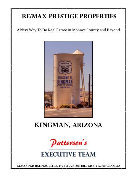 Mohave County Commercial Real Estate Kingman, Arizona April 2014