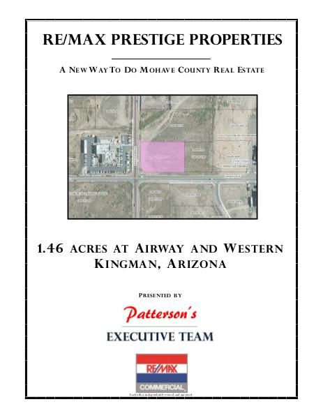 Mohave County Commercial Real Estate Airway and Western