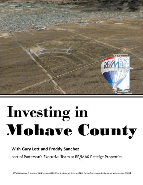 Investing in Mohave County January 26, 2016