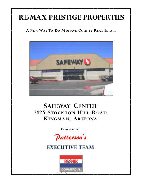 Safeway Center 3125 Stockton Hill Road by Pattersons Executive Team
