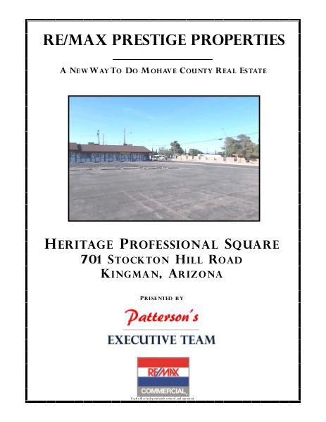 Heritage Professional Square Commercial Property For Sale