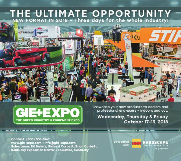 GIE+EXPO Exhibitor Information 2017 2018 Exhibitor Info