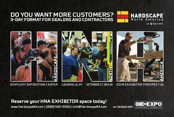 Hardscape North America Exhibitor Information Prospectus 2018