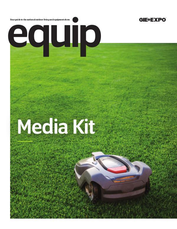 EQUIP MAGAZINE Media Kit
