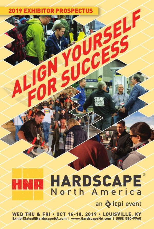 Hardscape North America Exhibitor Information Prospectus 2019