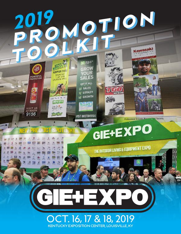 Promotion Tool Kit GIE+EXPO 2019