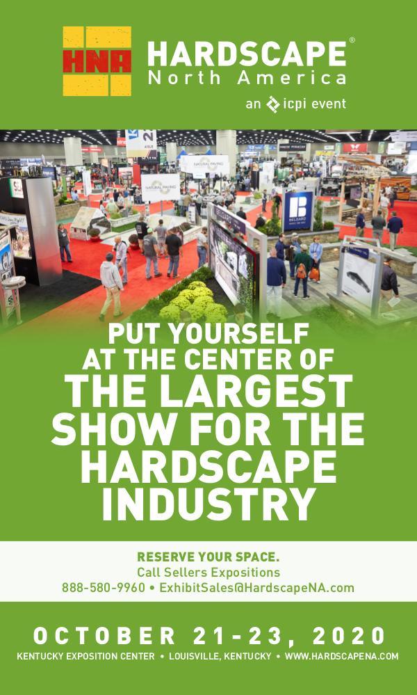 Hardscape North America Exhibitor Information Onsite Prospectus 2020