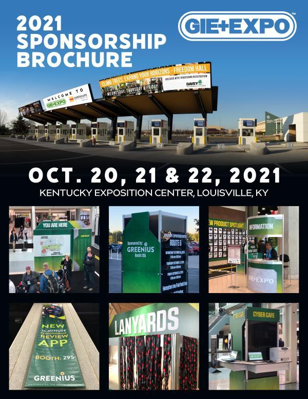 GIE+EXPO Sponsorship Brochure 2021