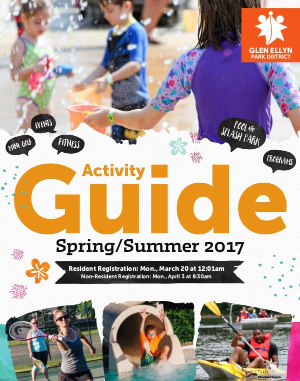 Activity Guide Spring/Summer 2017