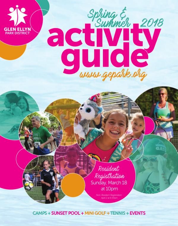 Activity Guide Spring & Summer 2018