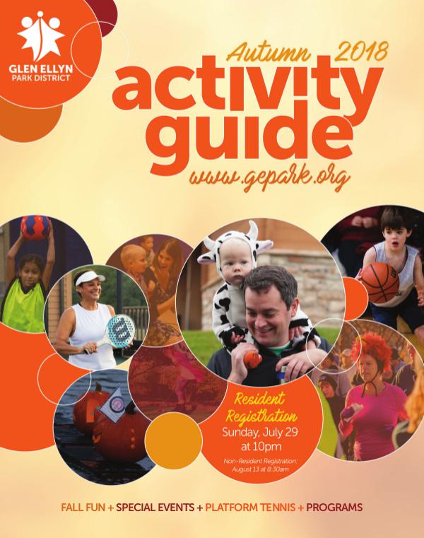 Activity Guide Autumn 2018
