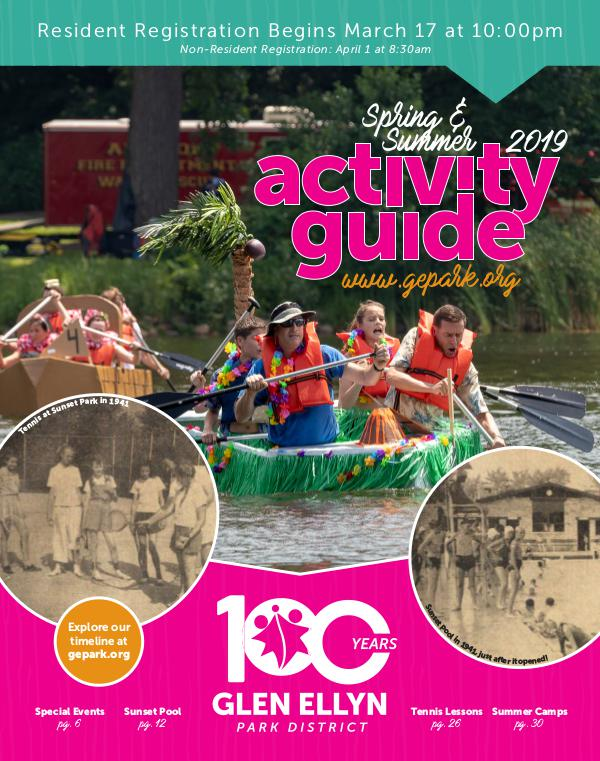 Activity Guide Spring/Summer 2019