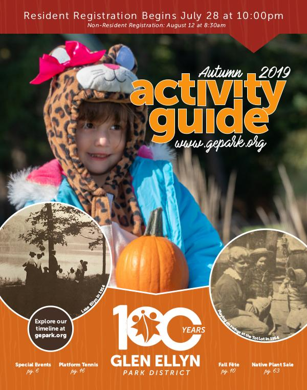 Activity Guide Autumn 2019