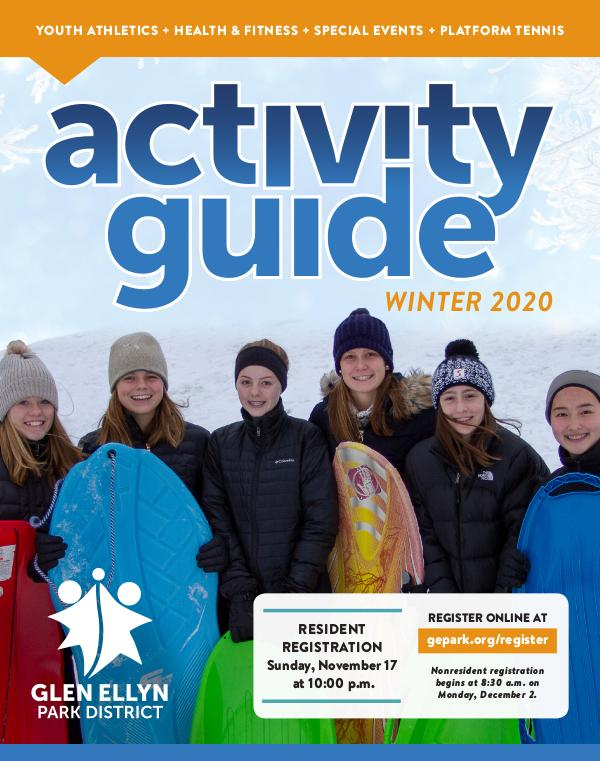 Activity Guide Winter 2020