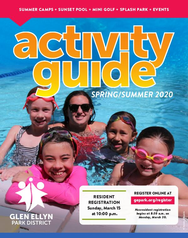 Activity Guide Spring/Summer 2020