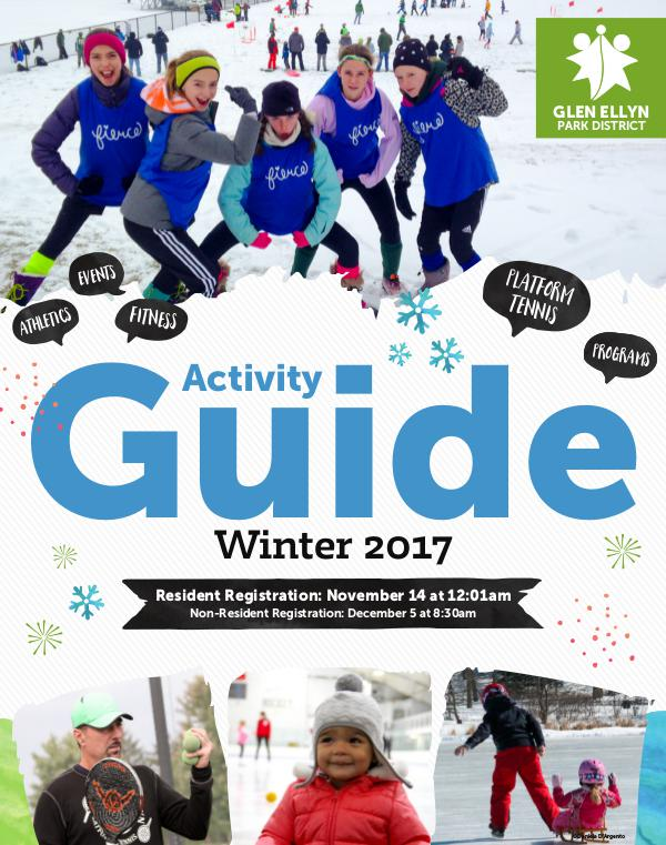 Activity Guide Winter 2017