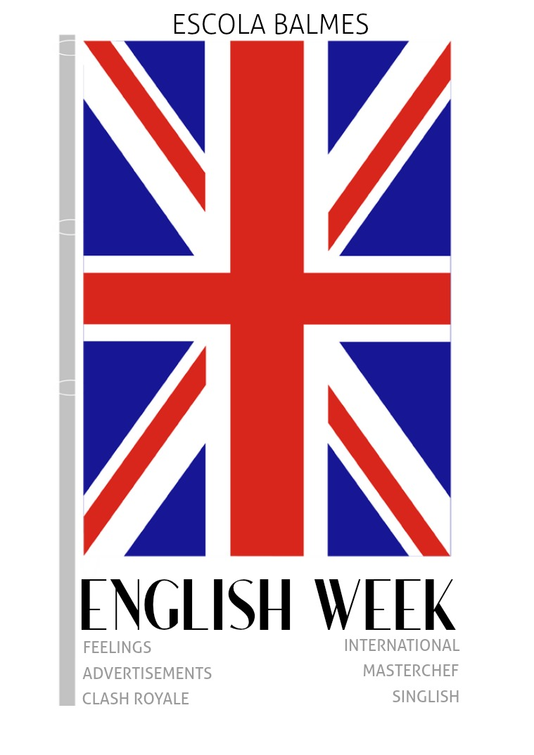 English Week Magazine - Escola Balmes 1