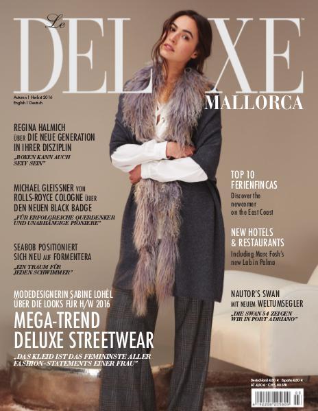 Deluxe Mallorca Magazin Herbst 2016 Herbst 2016