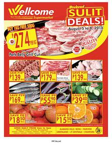 Wellcome Supermarket Weekend Sulit Deals