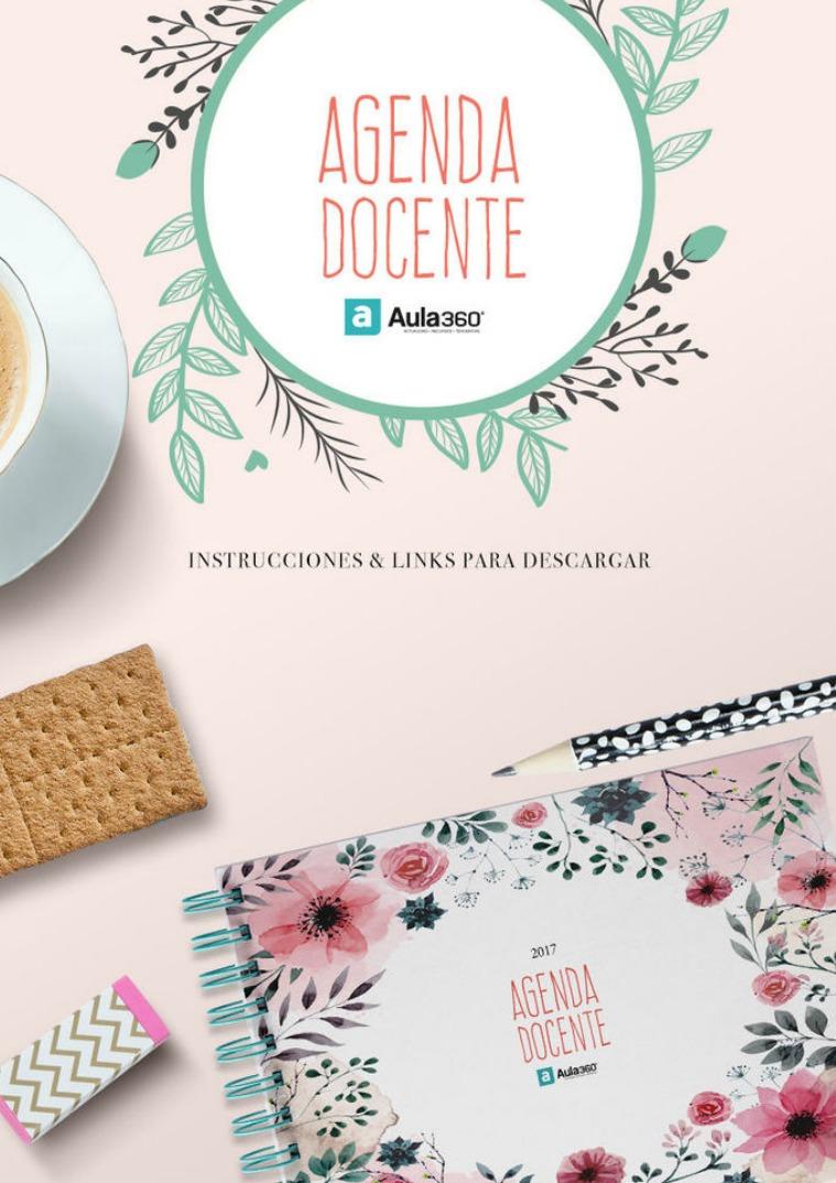Revista Digital Aula360 Instrucciones Agenda Docente 2017