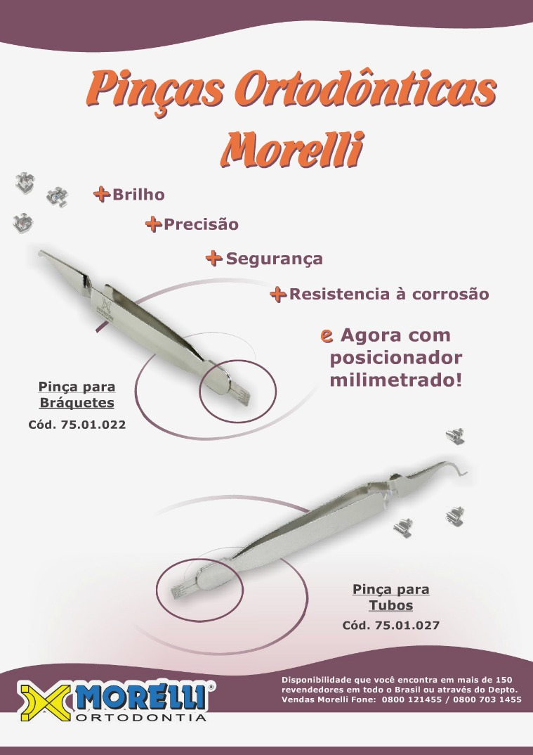 Dental Star - MORELLI Pinças