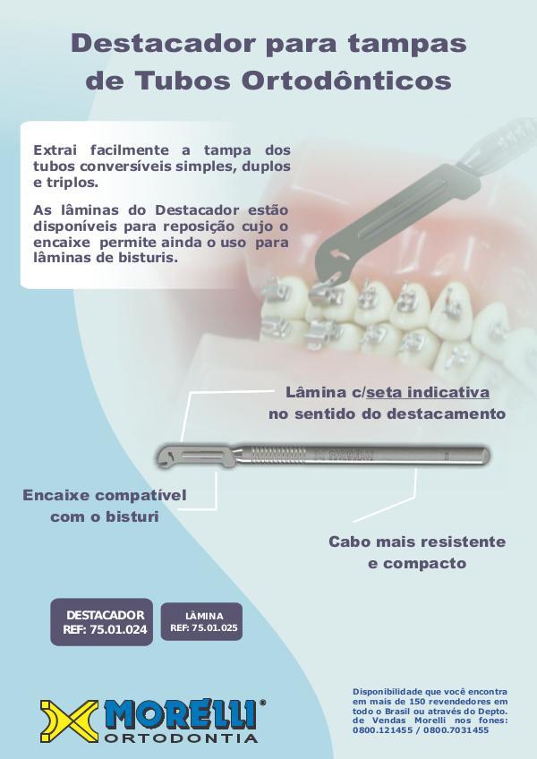 Dental Star - MORELLI Destacador de tampa de Tubo
