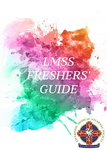 The LMSS Freshers Guide 2017/18
