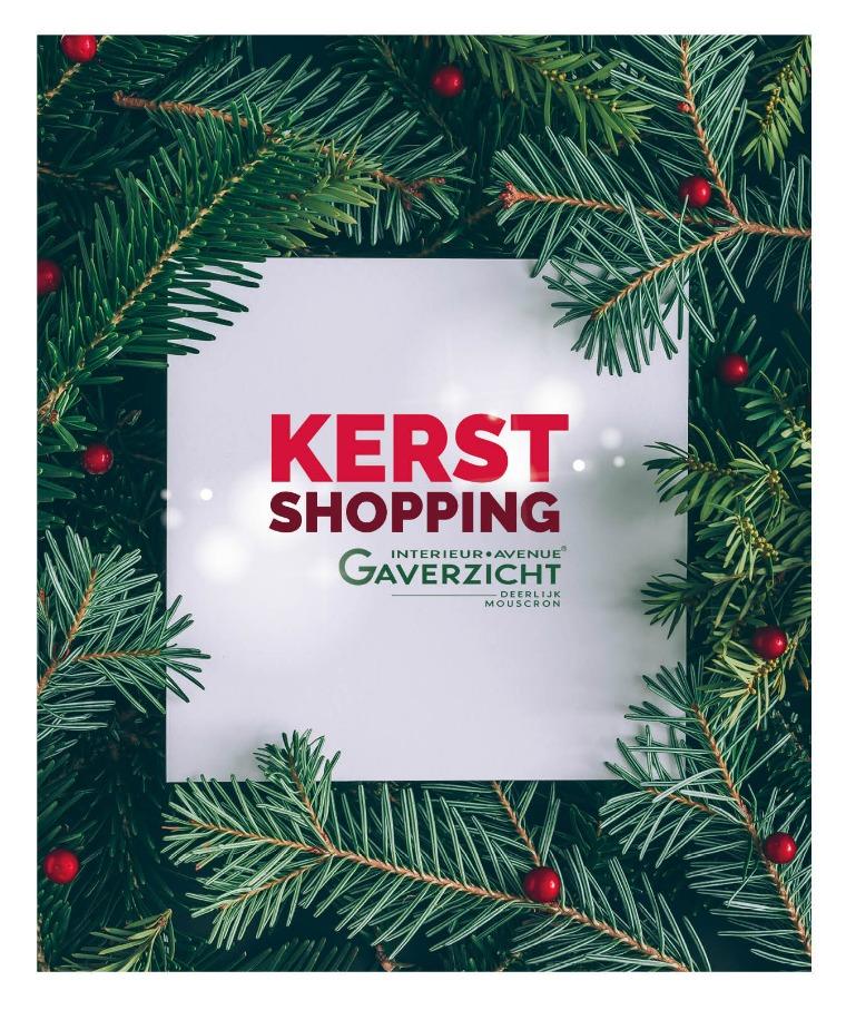 EINDEJAAR 2018 Gaverzicht Kerstshopping NL