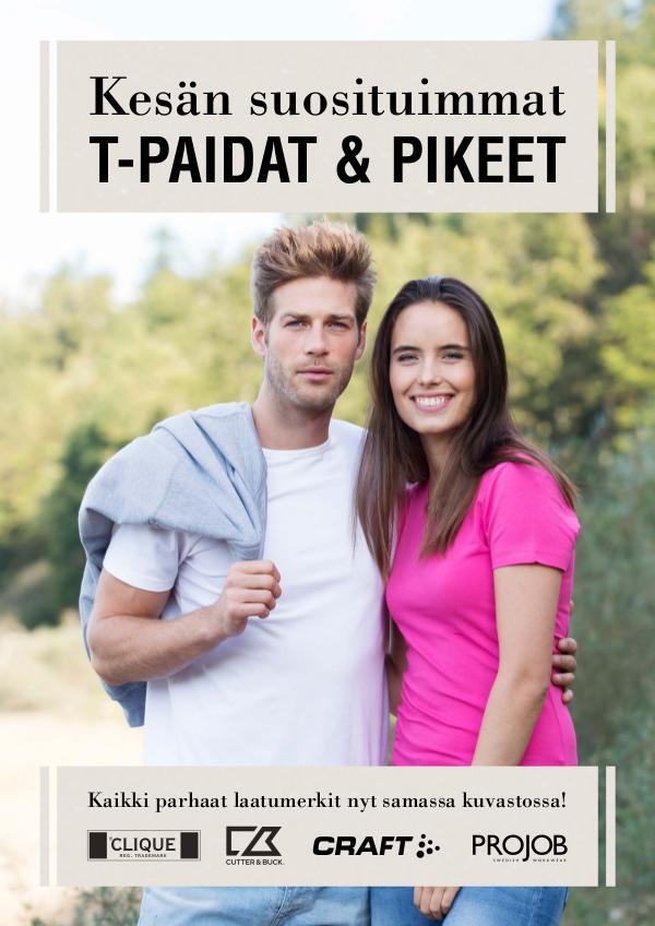 T-PAIDAT & PIKEET KESÄ 2017