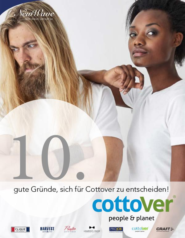 New Wave Switzerland 10. Brochure Cottover DE