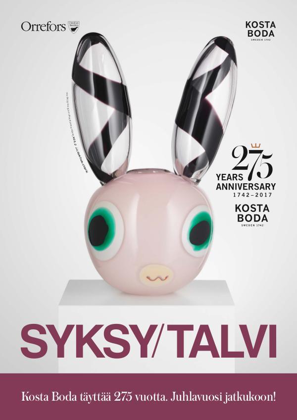 Orrefors KostaBoda Syksy / Talvi 2017