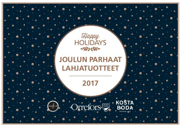 New Wave Finland Joulun parhaat lahjasetit 2017