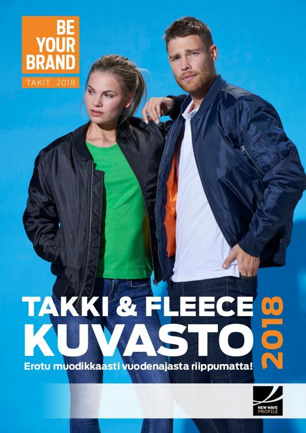 New Wave Profile FI TAKKI- & FLEECEKUVASTO TALVI / KEVÄT 2018