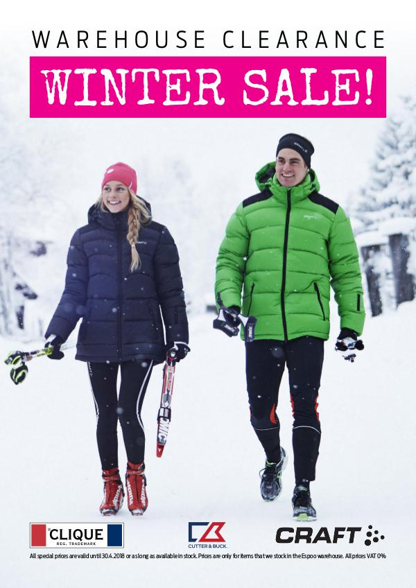 New Wave Finland WINTER SALE 2018 - LA
