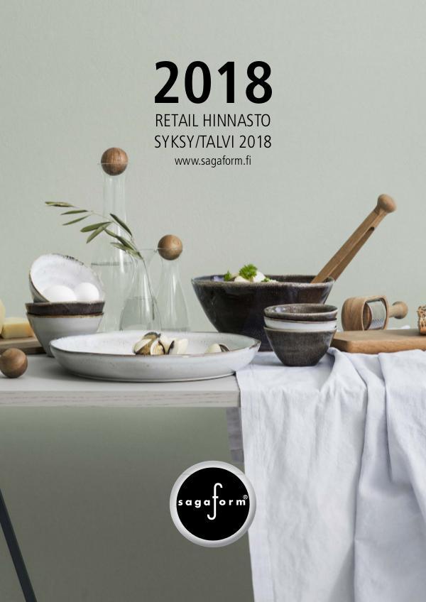 Sagaform RETAIL HINNASTO 2018