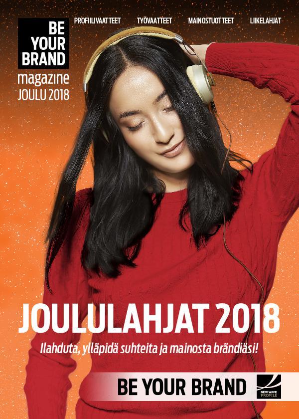 New Wave Profile FI BE YOUR BRAND - JOULUKUVASTO 2018 JM
