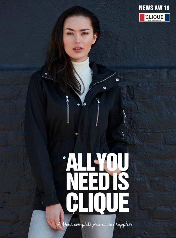 CLIQUE - Syksy / Talvi 2019 kuvasto retail