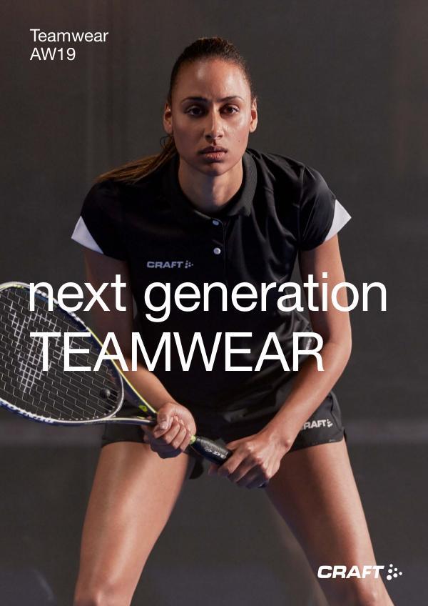 CRAFT Suomi Teamwear Syksy / Talvi 2019 PROFIILI