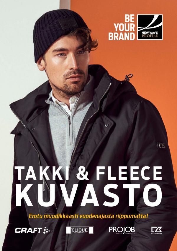 New Wave Profile FI Takki & Fleece kuvasto syksy / talvi 2019