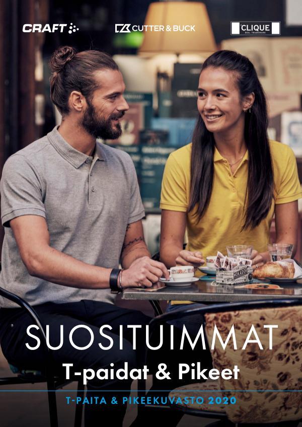 New Wave Finland Suosituimmat  Tpaita & pikee 2020 kuvasto