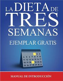 LA DIETA DE 3 SEMANAS PDF GRATIS